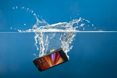 В телефон попала вода