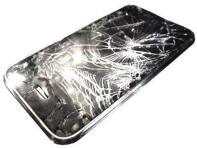 Разбился экран на телефоне