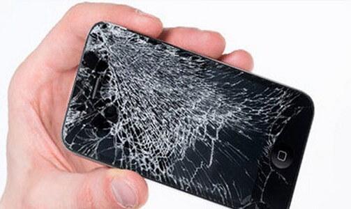 Разбилось стекло на телефоне